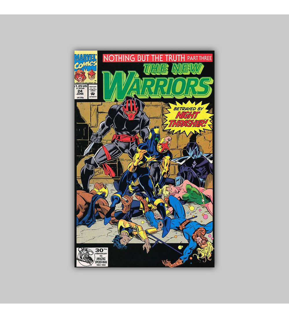 New Warriors 24 1992