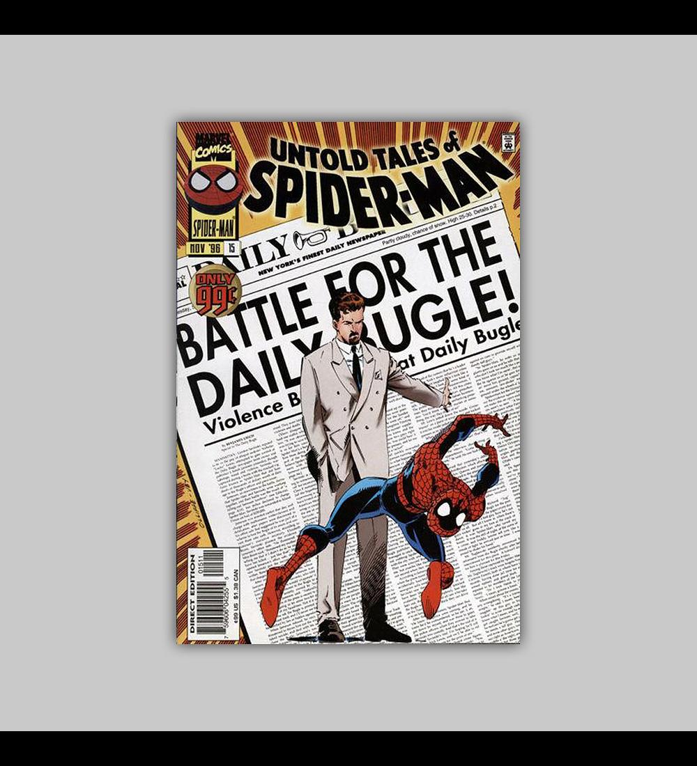 Untold Tales of Spider-Man 15 1996