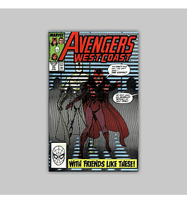 West Coast Avengers (Vol. 2) 47 1989
