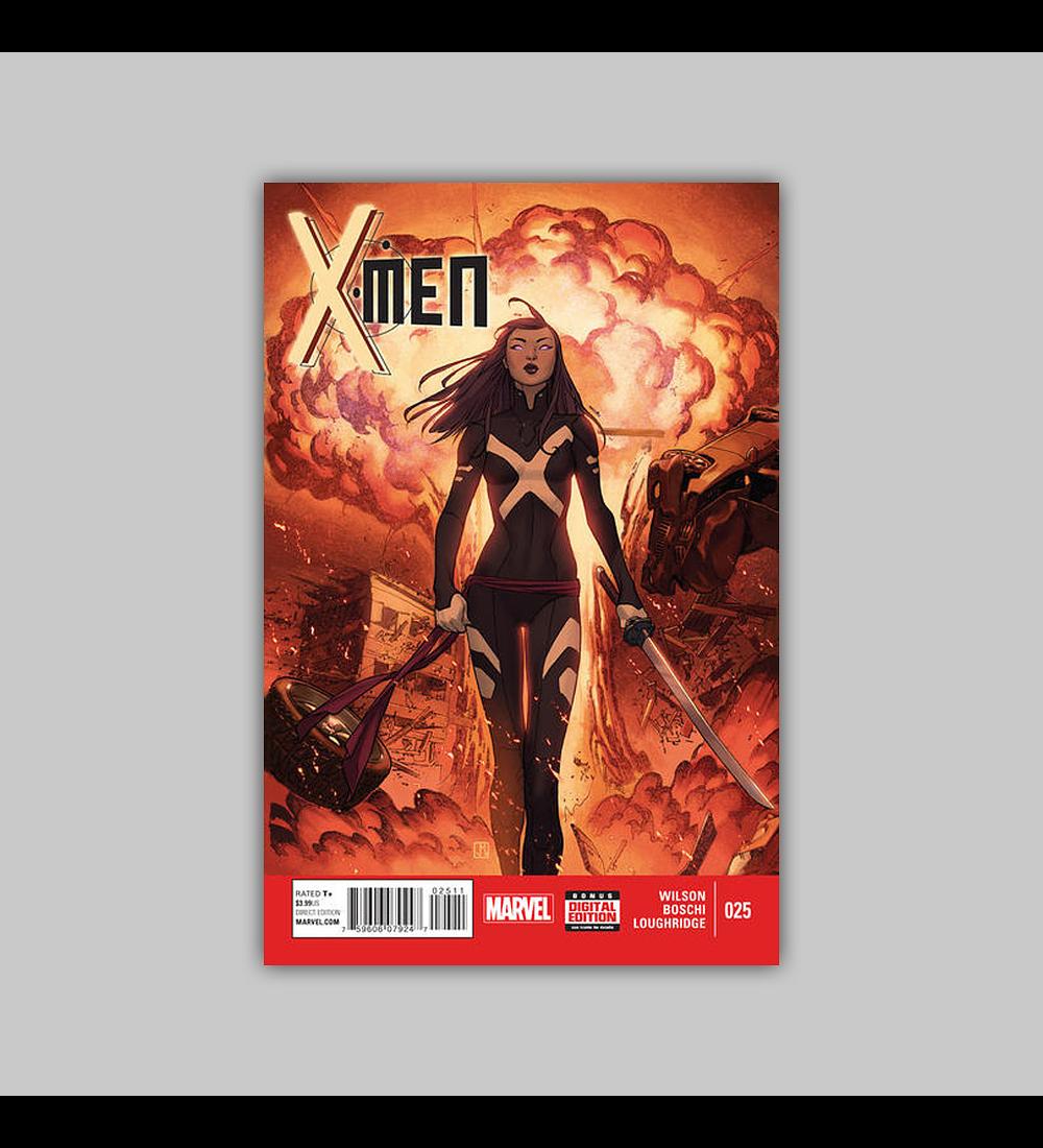 X-Men (Vol. 3) 25 2015