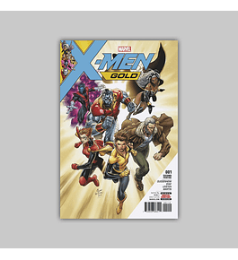 X-Men: Gold 1 2nd printing 2017
