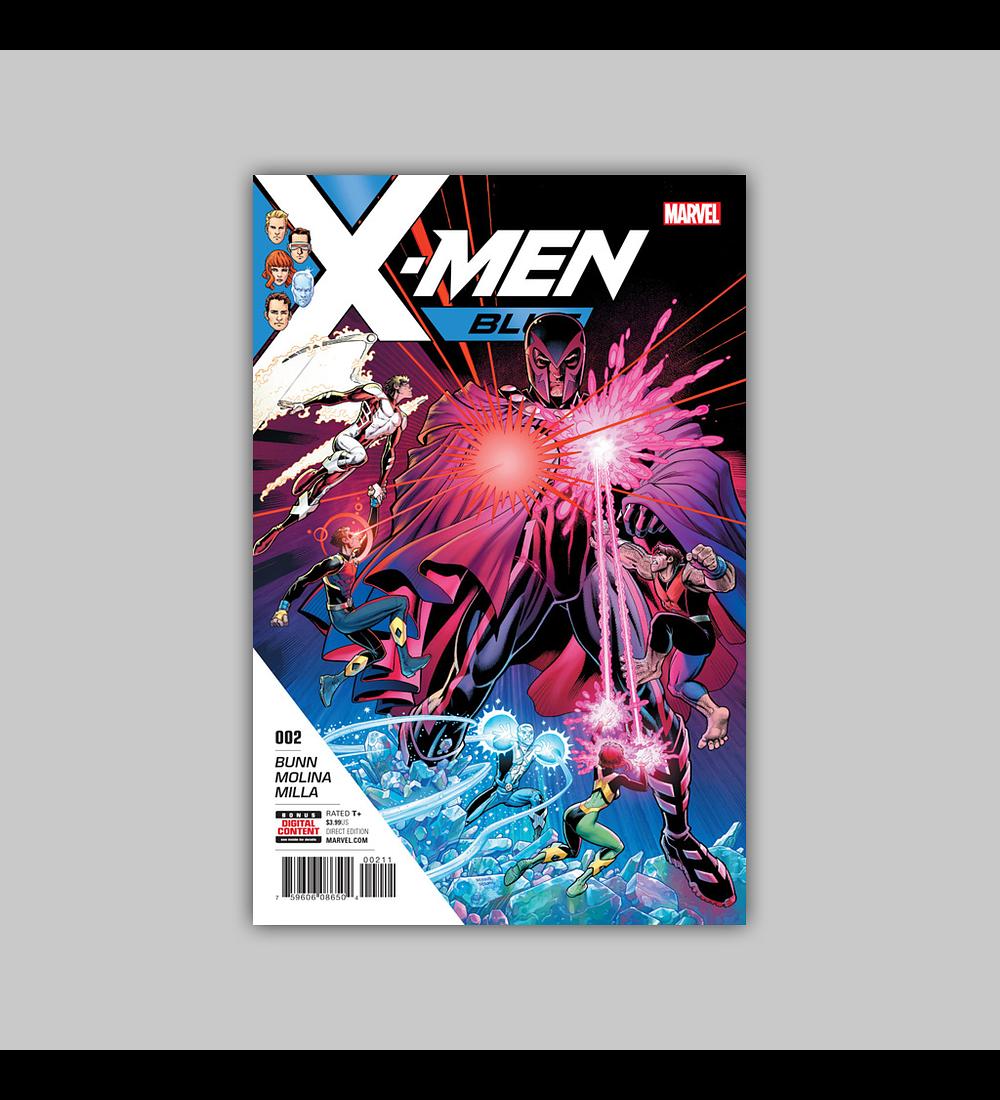 X-Men: Blue 2 2017