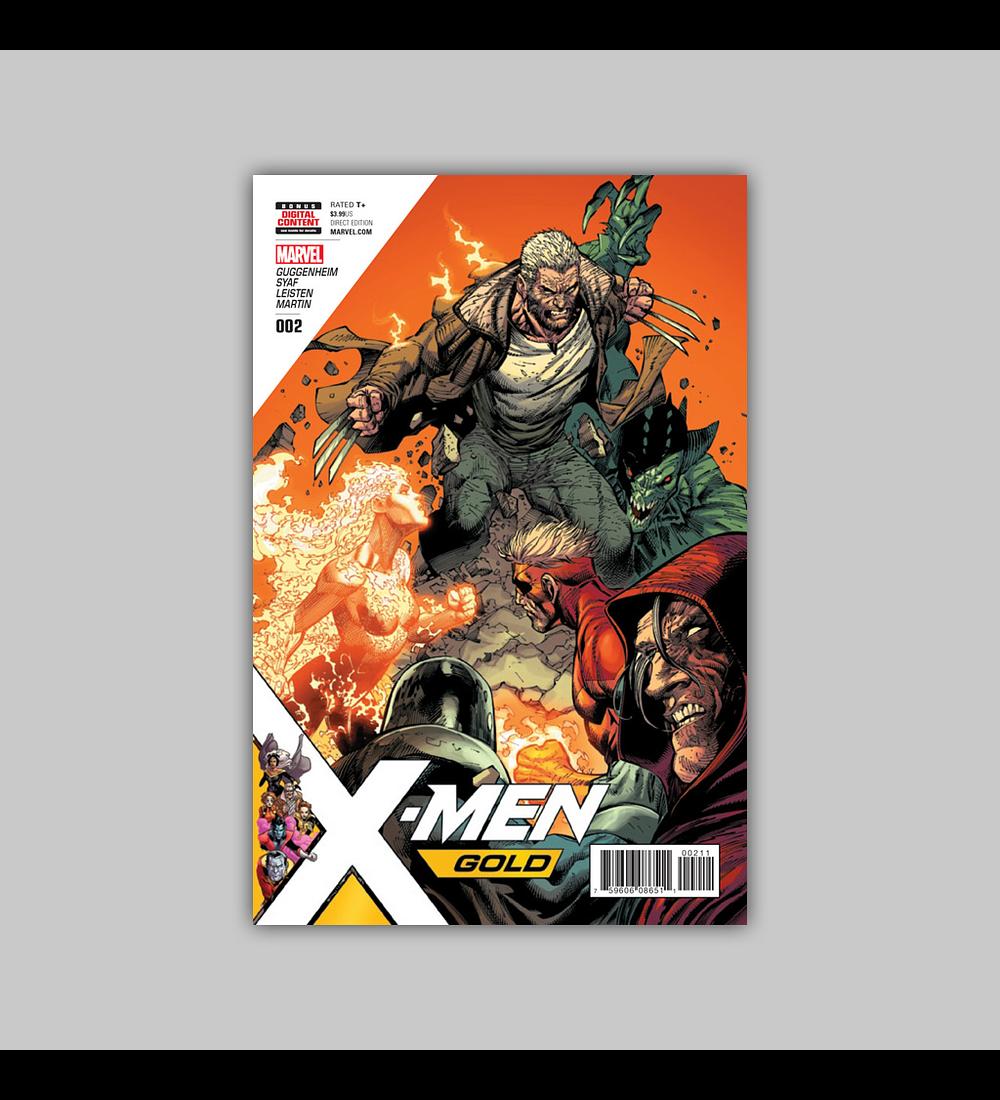 X-Men: Gold 2 2017