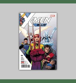 X-Men: Blue 4 2017