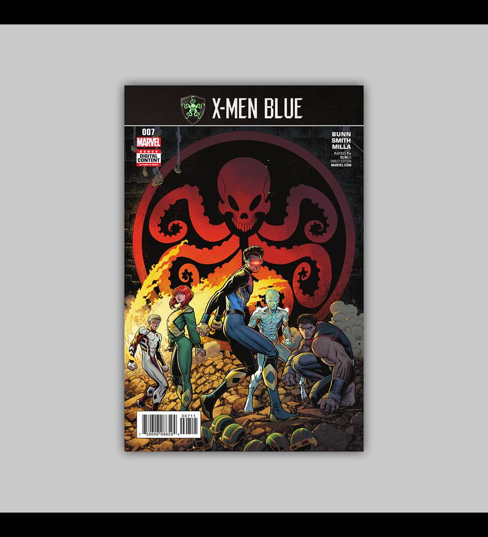 X-Men: Blue 7 2017