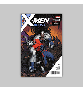 X-Men: Blue 11 2017