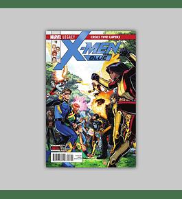 X-Men: Blue 18 2018