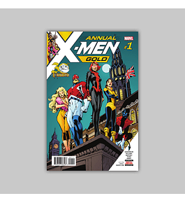 X-Men: Gold Annual 1 2018