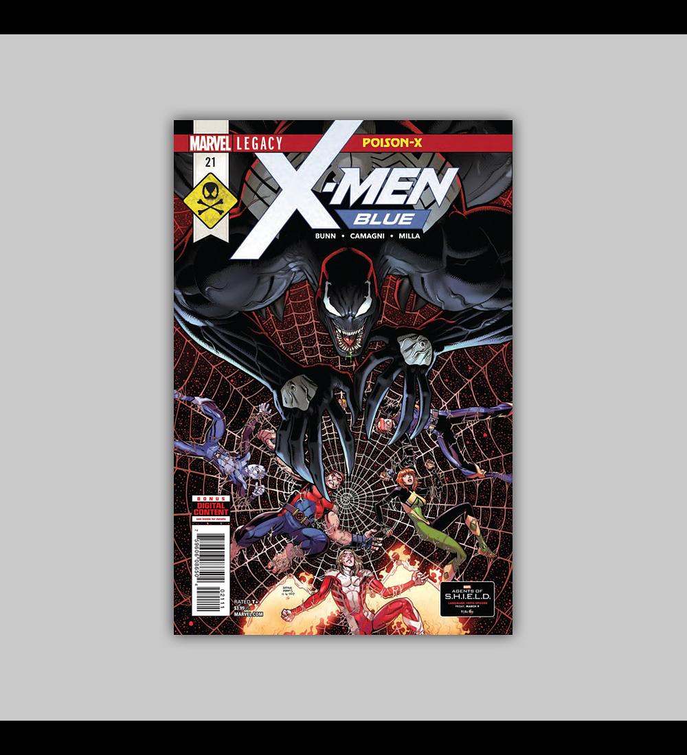 X-Men: Blue 21 2018