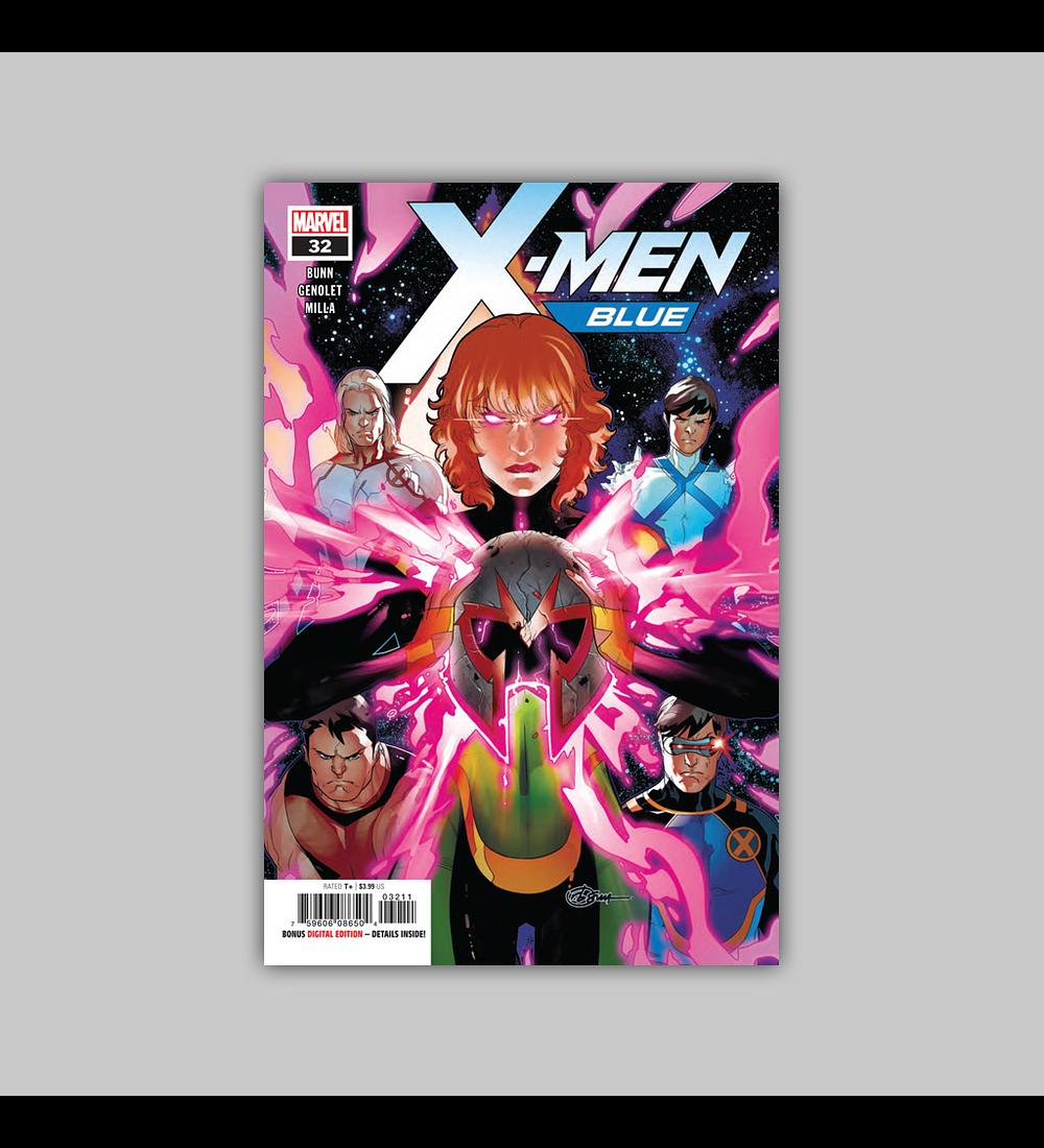 X-Men: Blue 32 2018