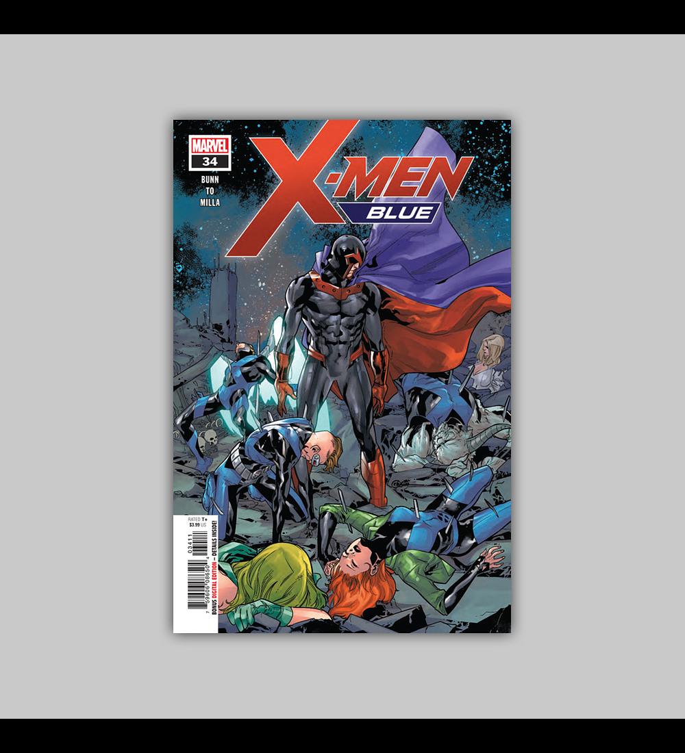 X-Men: Blue 34 2018