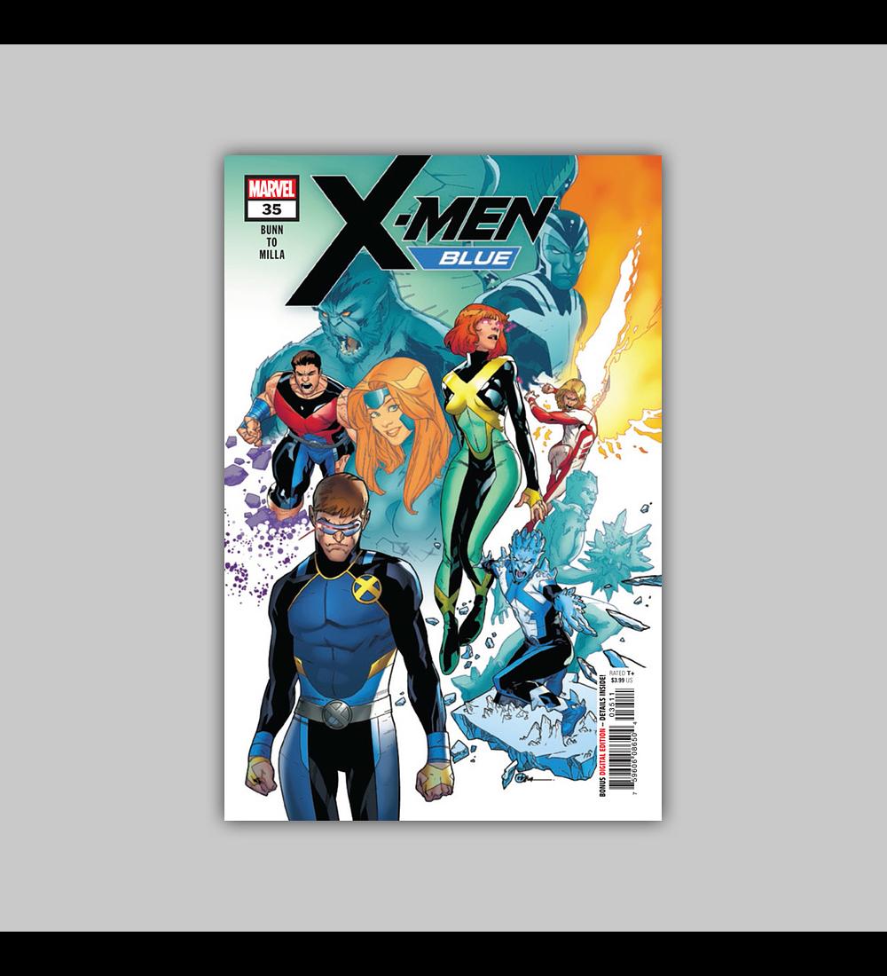 X-Men: Blue 35 2018
