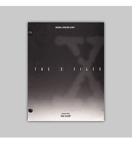 X-Files Season 5: Bad Blood — Original Shooting Script 1998