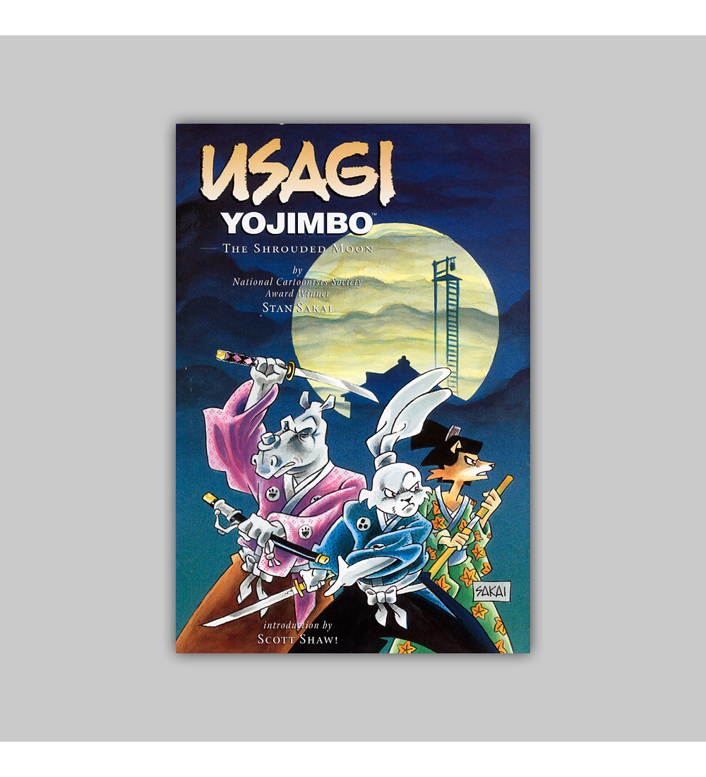 Usagi Yojimbo Vol. 16: The Shrouded Moon 2003