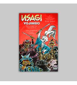Usagi Yojimbo Vol. 26: Traitors of the Earth 2012