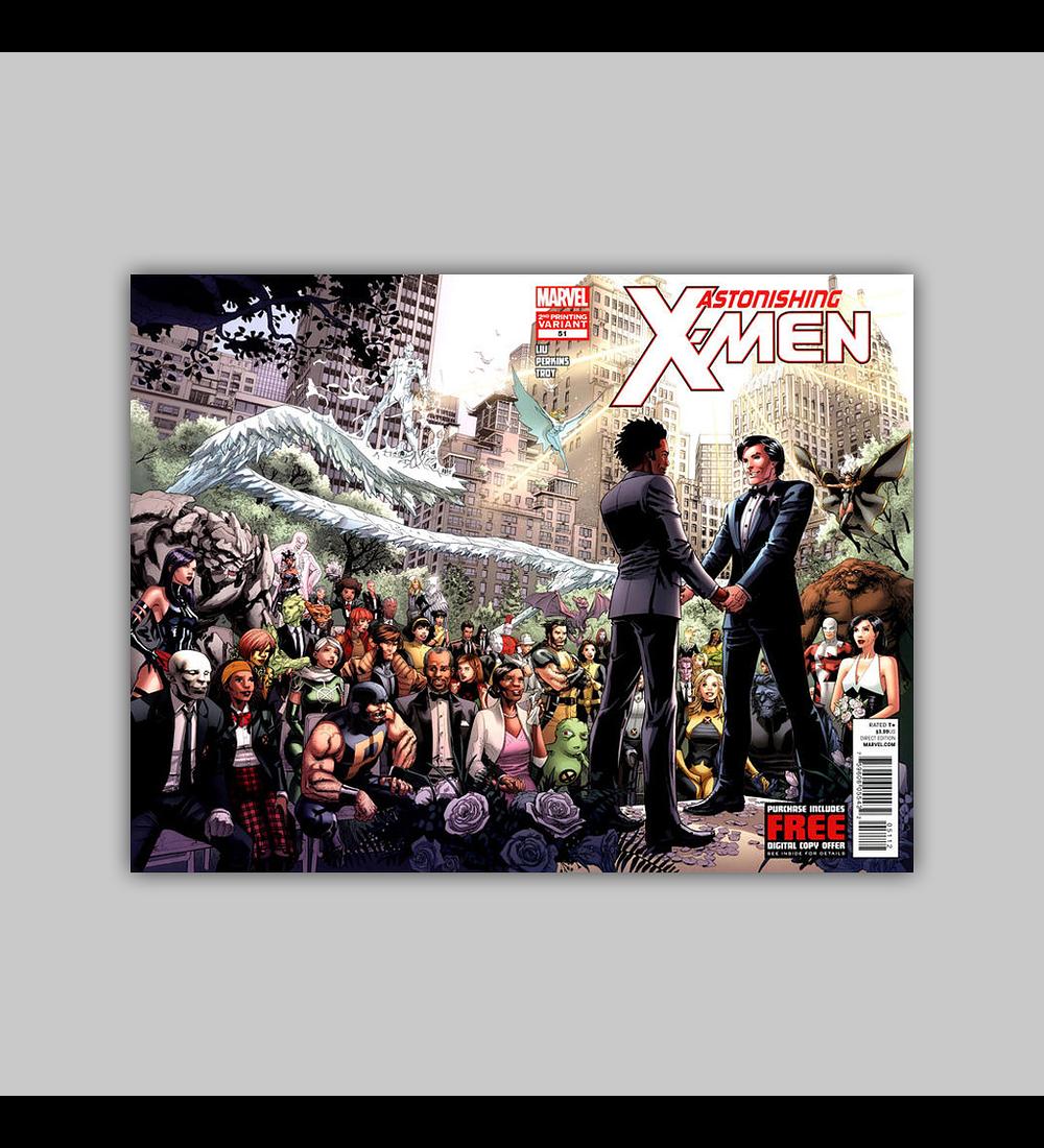 Astonishing X-Men 51 2nd printing 2012