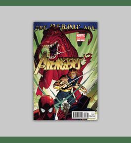 Avengers (Vol. 4) 3 2nd printing 2010