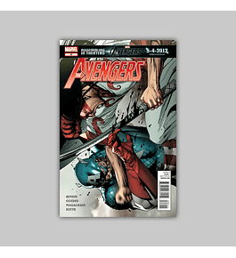 Avengers (Vol. 4) 22 2012