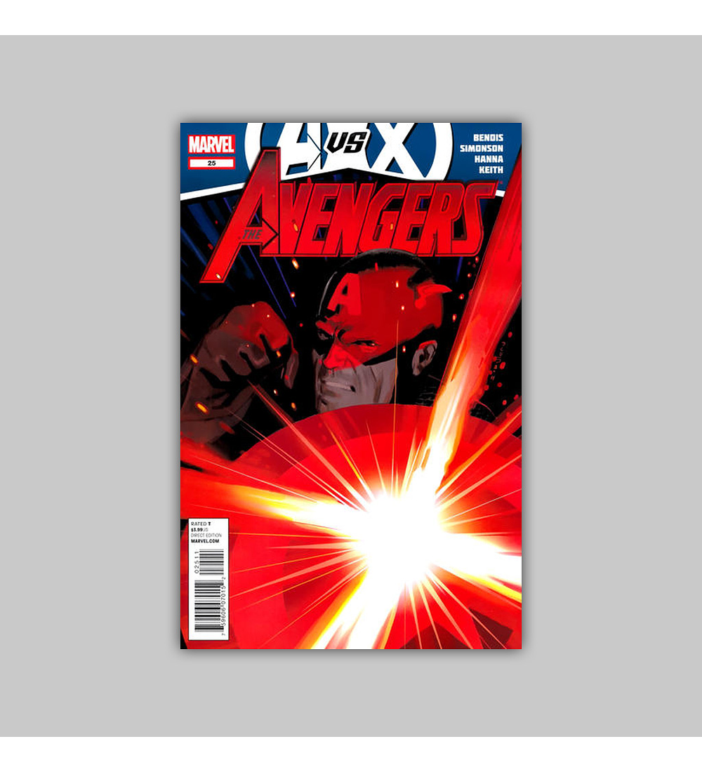 Avengers (Vol. 4) 25 2012