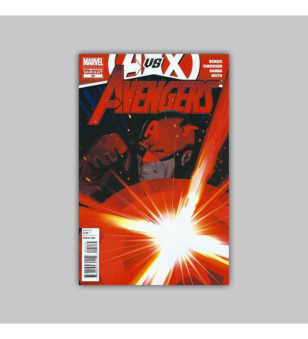 Avengers (Vol. 4) 25 2nd printing 2012