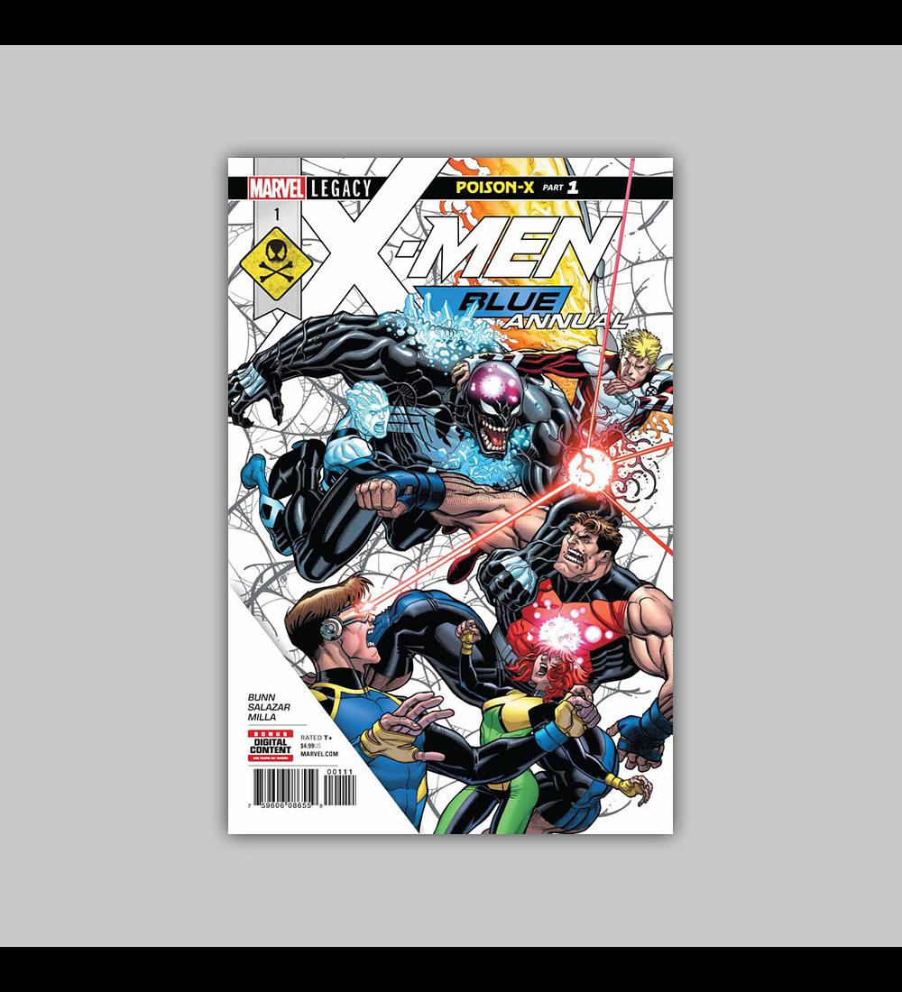 X-Men: Blue Annual 1 2018