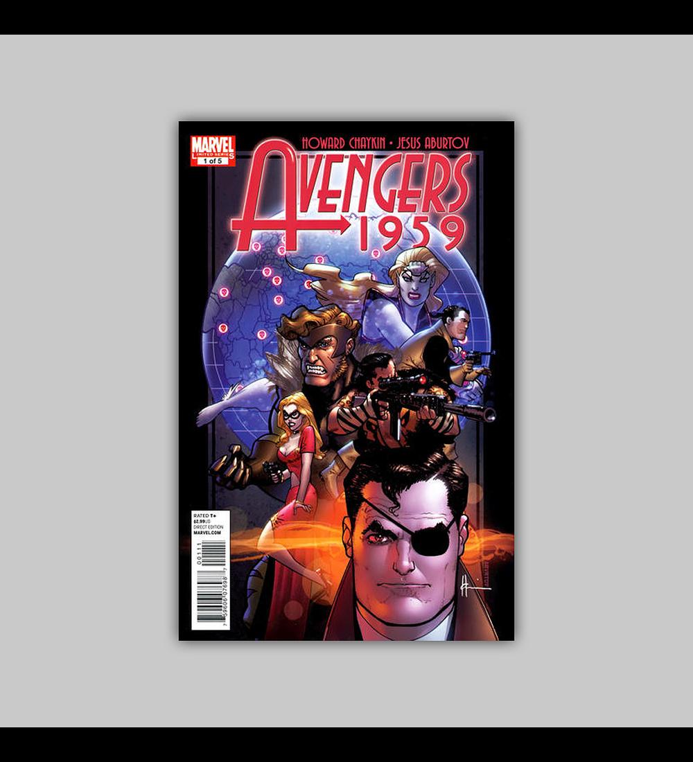 Avengers 1959 1 2011