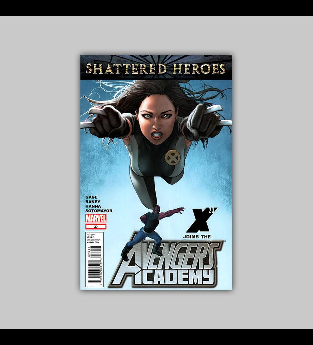 Avengers: Academy 23 2012