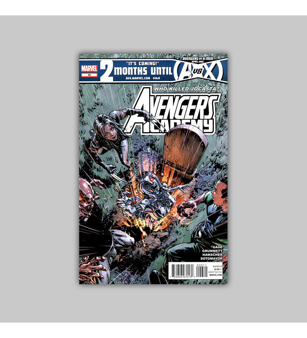 Avengers: Academy 26 2012