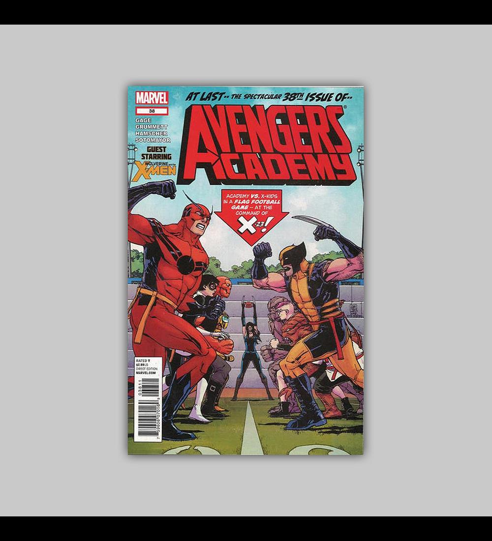 Avengers: Academy 38 2012