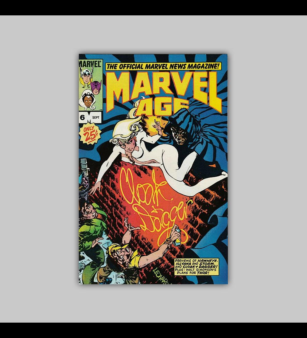 Marvel Age 6 1983
