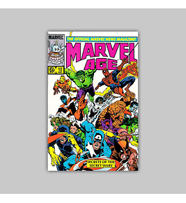Marvel Age 12 VF/NM (9.0) 1984