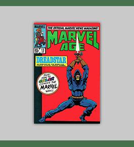 Marvel Age 13 1984