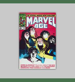 Marvel Age 16 1984