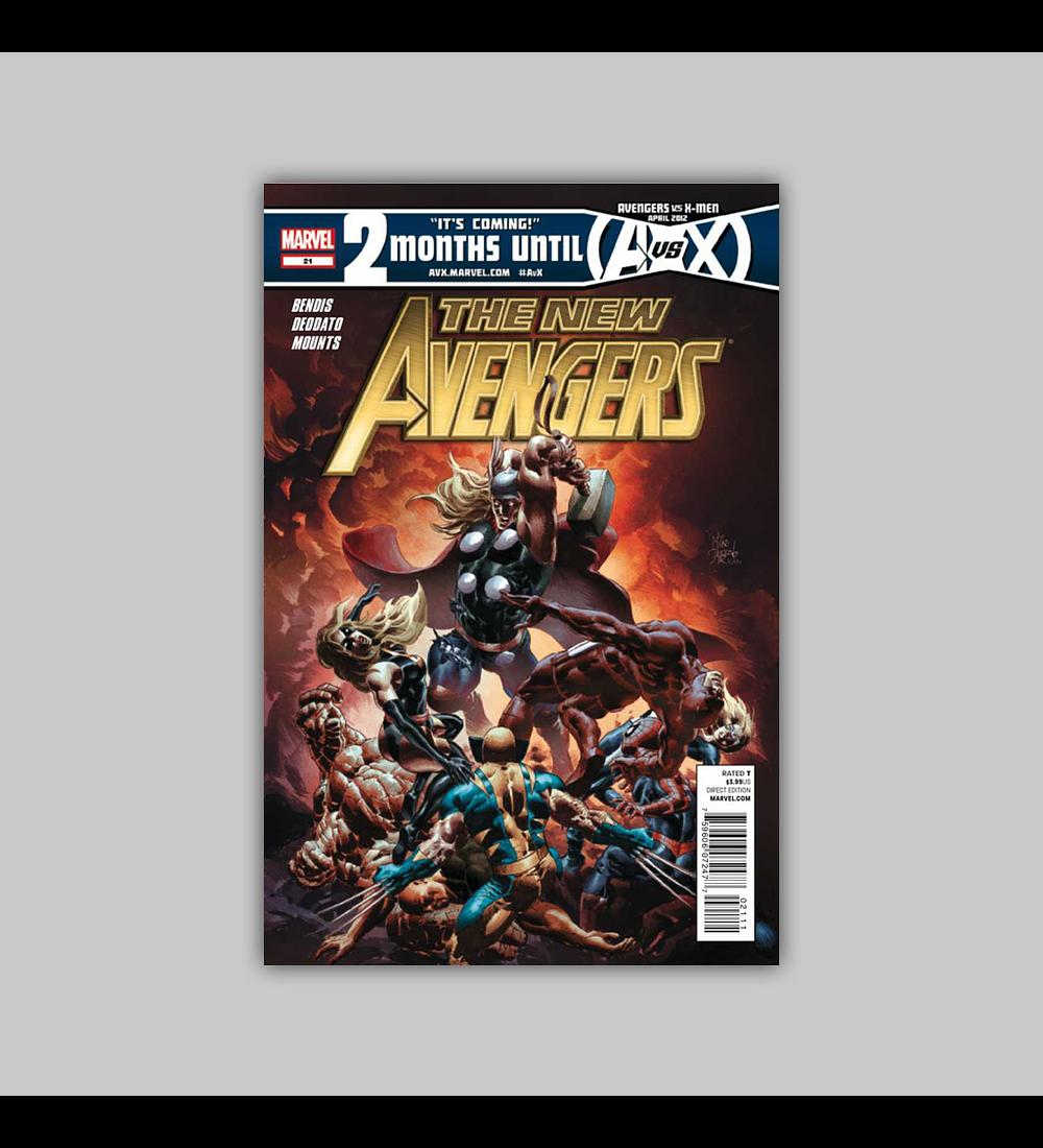 New Avengers (Vol. 2) 21 2012