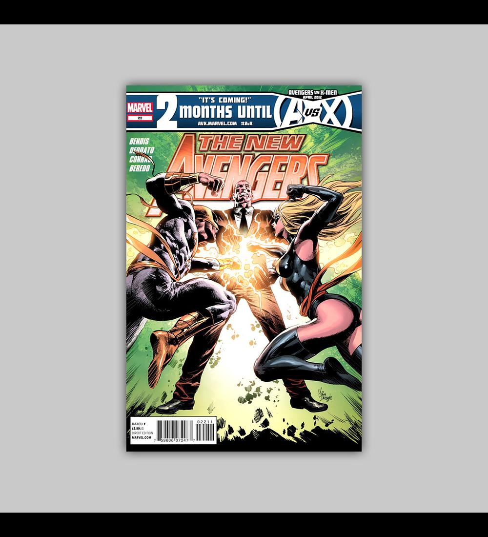 New Avengers (Vol. 2) 22 2012