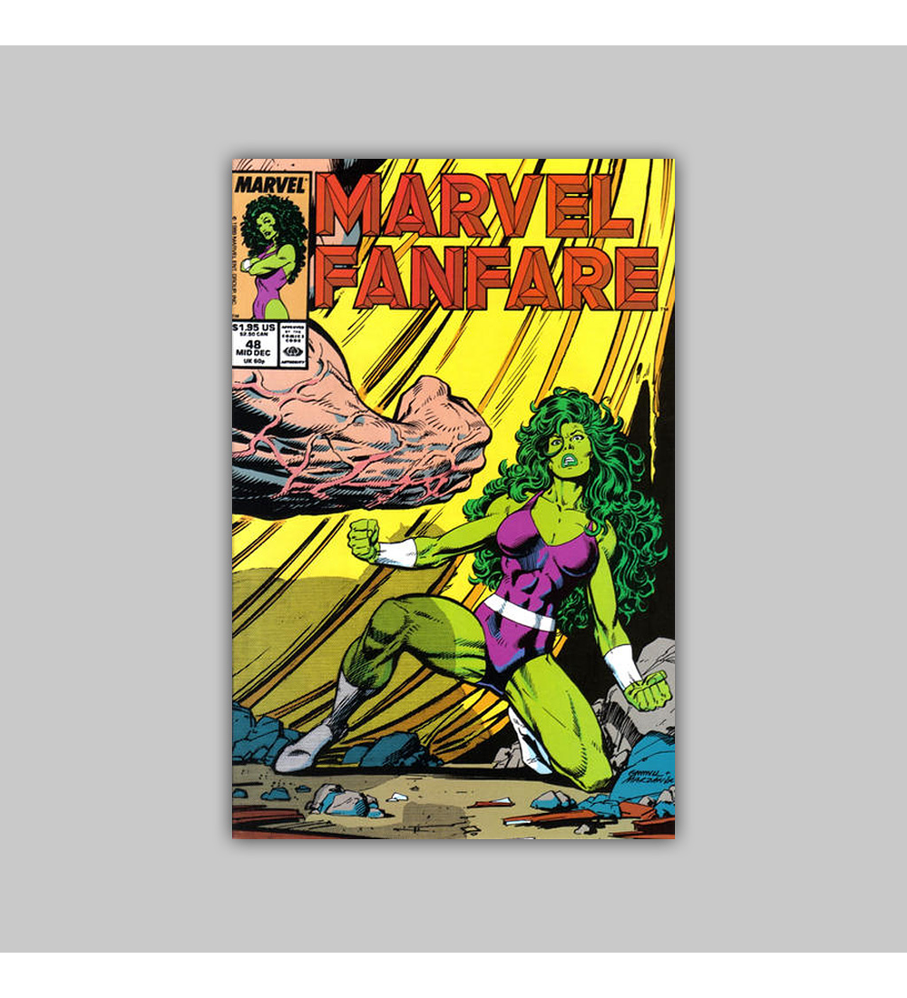 Marvel Fanfare 48 1989