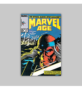 Marvel Age 21 1984