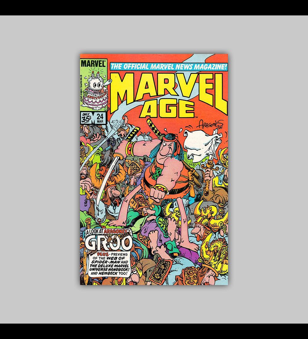 Marvel Age 24 1985