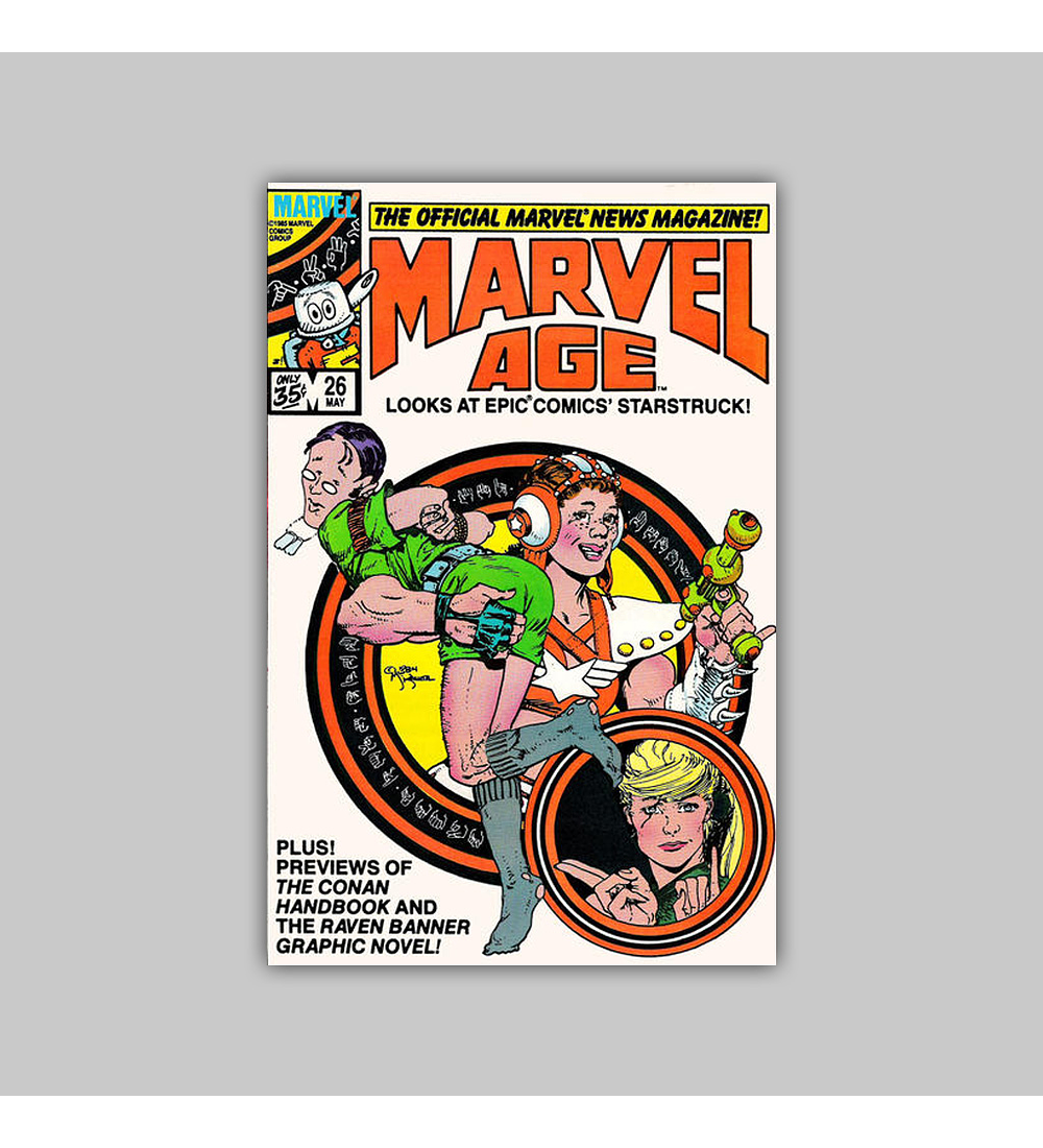 Marvel Age 26 1985