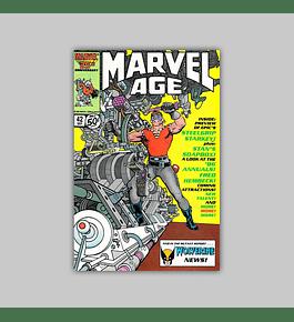 Marvel Age 42 1986