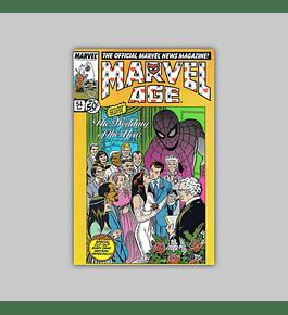 Marvel Age 54 1986