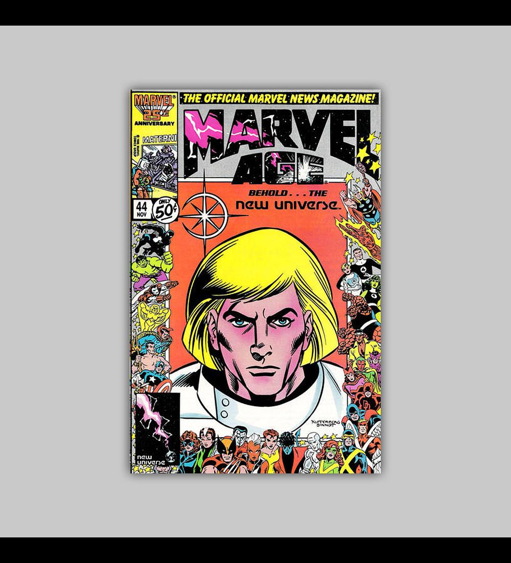 Marvel Age 44 1986