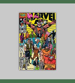 Marvel Age 47 1987