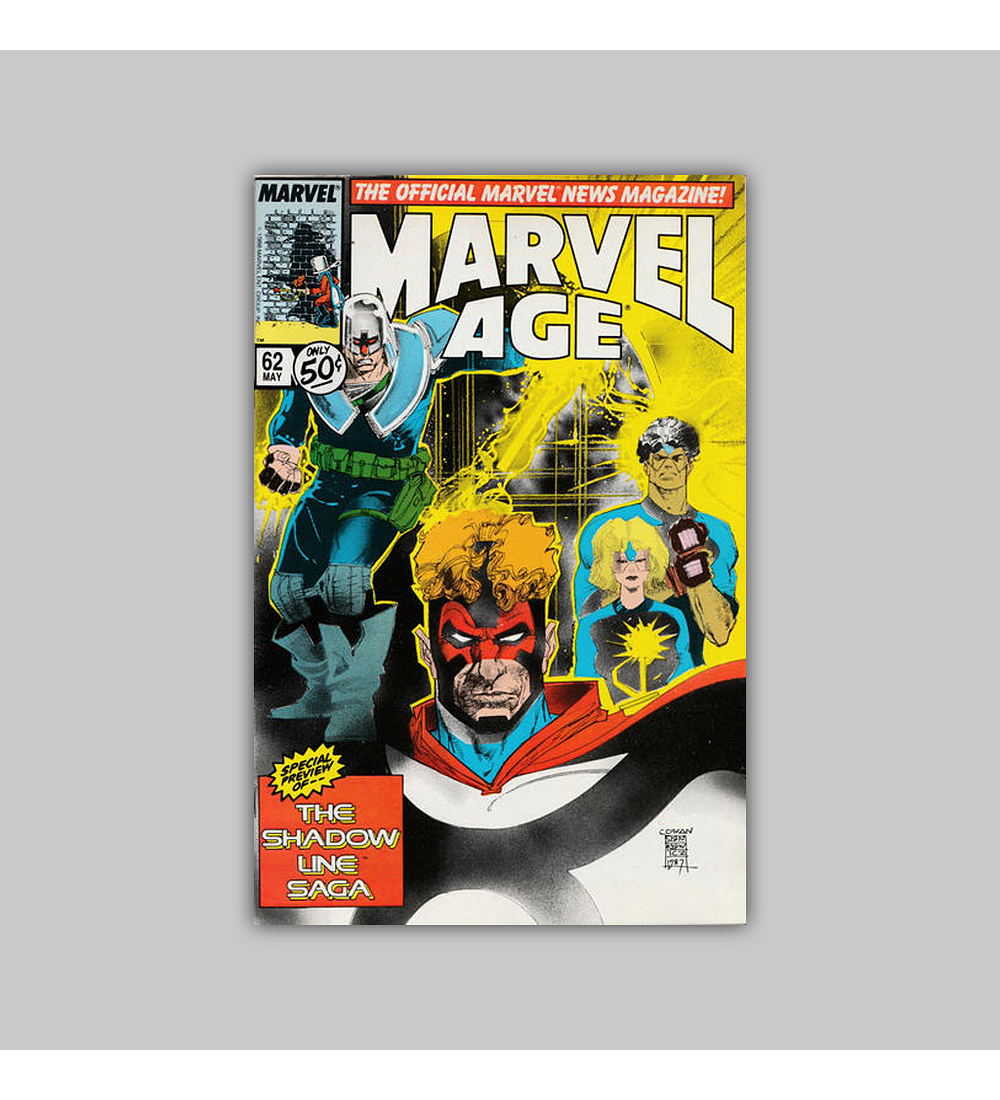 Marvel Age 62 1988