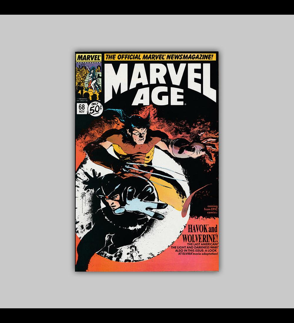 Marvel Age 68 1988