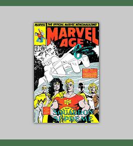 Marvel Age 82 1989