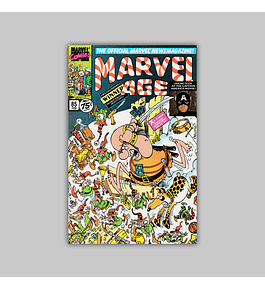 Marvel Age 85 1990