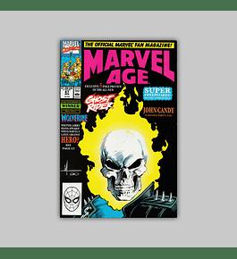 Marvel Age 87 1990