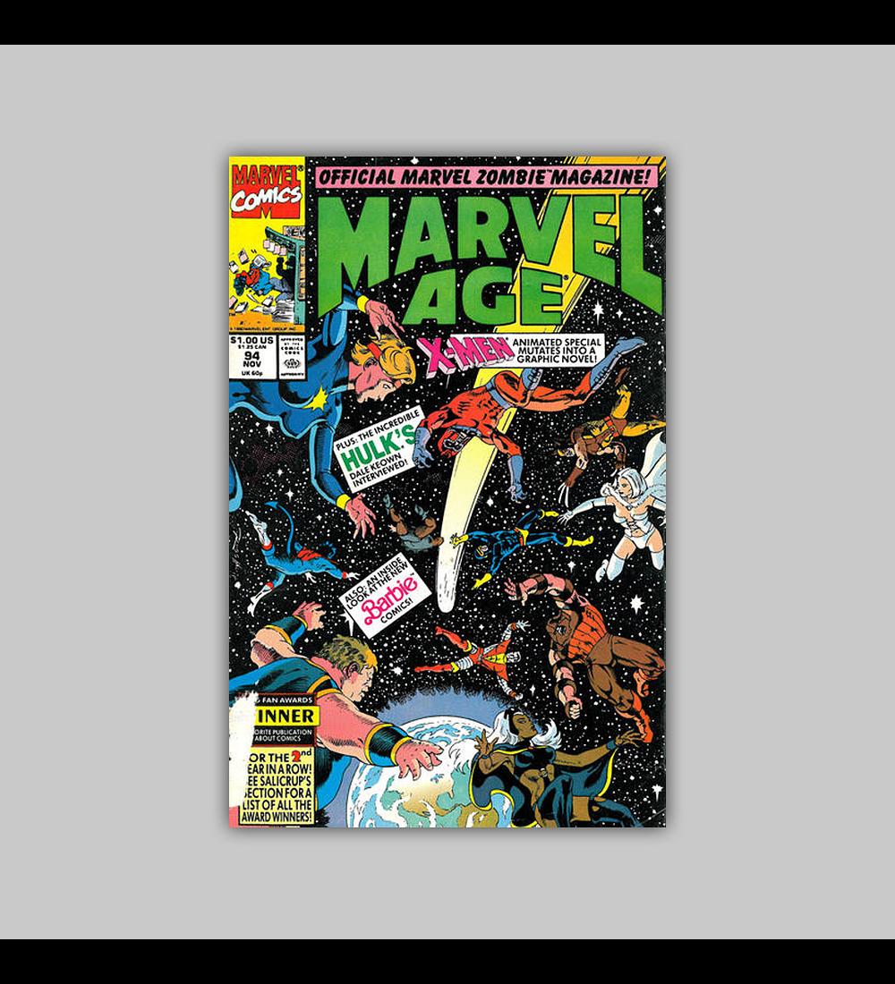 Marvel Age 94 1990