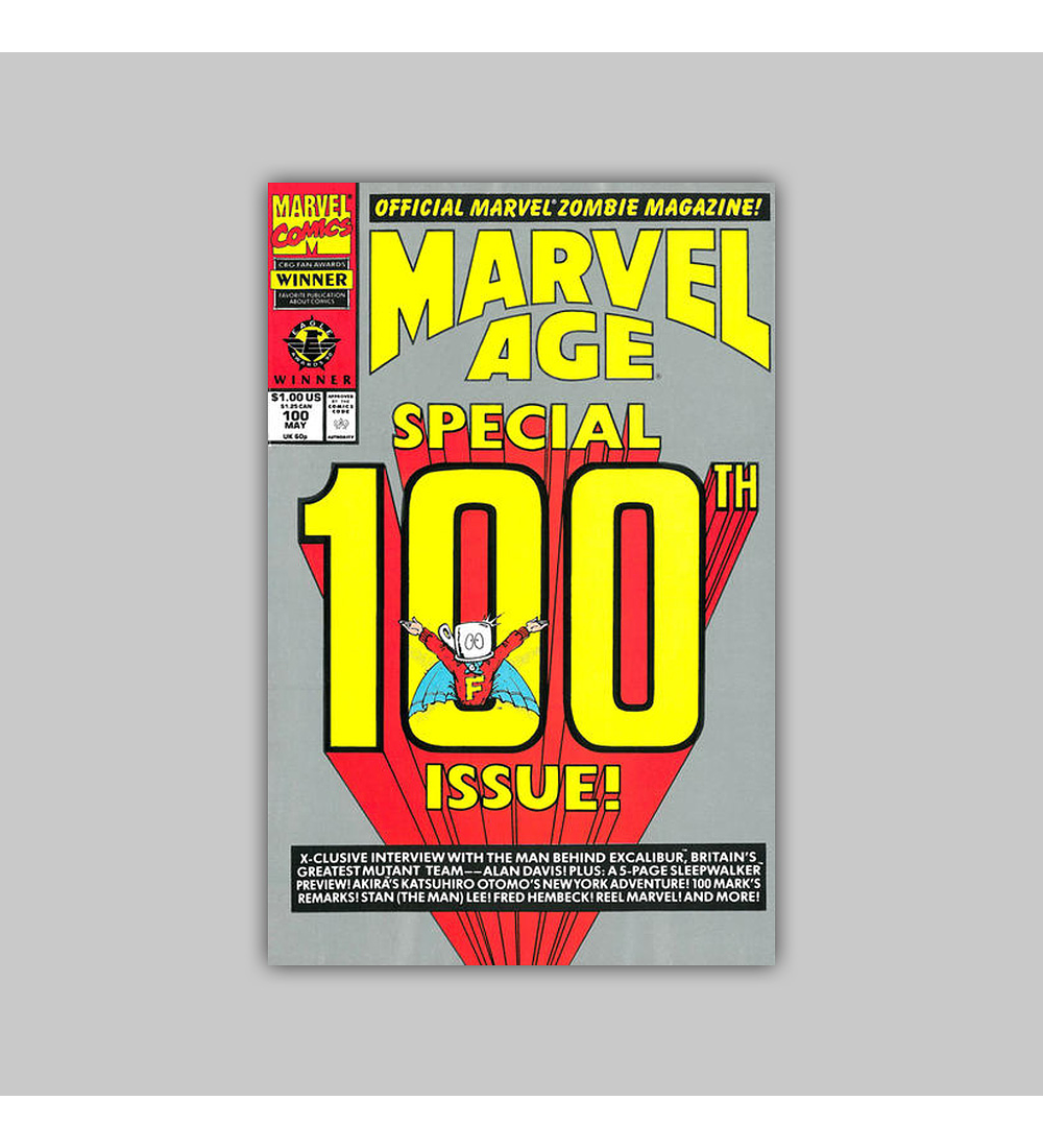 Marvel Age 100 1991